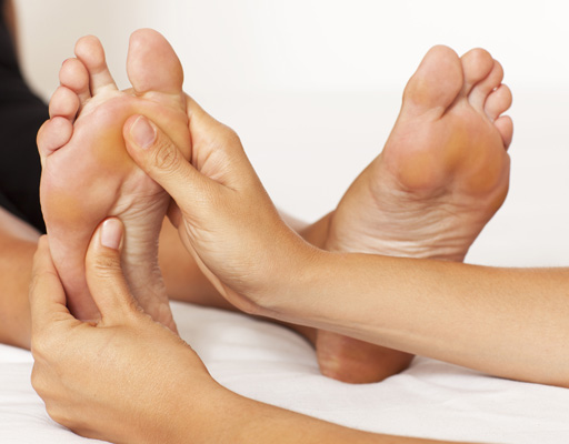Reflexology by Certified Reflexologist Michelle Tripp is now available at Associate Foot Specialists Clinic