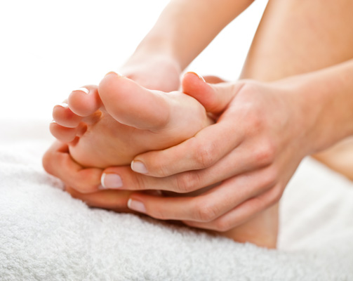 Reflexology by Certified Reflexologist Michelle Tripp is now available at Associate Foot Specialists Clinic.